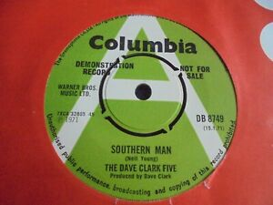 The Dave Clark Five - Southern Man 1971 UK 45 COLUMBIA DEMO NEIL YOUNG