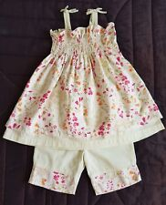 Baby Girl Mamas And Papas Summer Outfit 9-12 Months