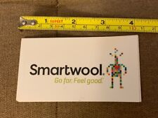 Smartwool 4� go far feel good Sticker Brand new Camping Sticker Ships Fast