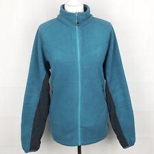 SPRAYWAY Polartec Fleece Full Zip Jacket Size UK 14 Large In Teal Women's Ladies