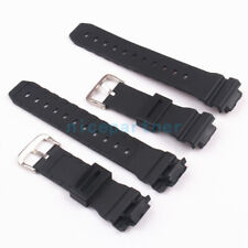 Black Rubber/Resin Replacement Watch Strap Band fits C ASIO G-SHOCK 6900 Series