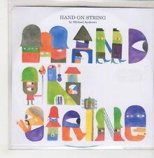 (GO939) Hand On String, Michael Andrews - 2007 DJ CD