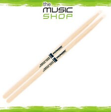 New Set of Promark Hickory 5A 'The Natural' Drumsticks with Nylon Tips