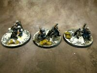 Warhammer 40k Astra Militarum Catachan Heavy Weapon Mortar Squad Well Painted