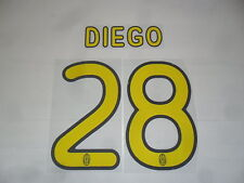 FW14 Diego 28 Name Number Official Name Set for T-Shirt 2010-2012 Jersey G