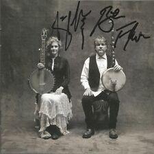 Béla Fleck & Abigail Washburn * Béla Fleck & Abigail Washburn (CD, 2014) Signed