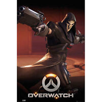 Overwatch - Reaper POSTER 61x91cm NEW * Video Game Blizzard