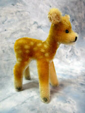 Collectible Vintage Steiff Small Mohair Standing Fawn, Jungreh from 1969