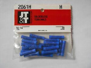 16-14 Gauge Wire Terminals Butt Connectors 20 Pcs