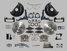 Ultra Complete deluxe 65-66 Mustang manual disc brake kit SN95 Aluminum Calipers