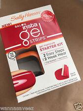 Sally Hansen Salon Insta Gel Strips STARTER KIT #40296 Red My Lips
