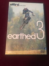 Earthed 3 DVD Mountain Biking - Extreme Sports - Mtb VERY RARE OUT OF PRINT