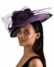 C.C Cocktail Fashion Sinamay Kentucky Derby Church Fascinator