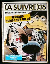A Suivre N°35 - Auclair, Sokal, Pratt, etc... -  Eds. Casterman - Décembre 1980