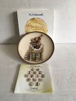"Hummel ""Turmblaser Fanfare"" Miniature Plate 1999 Goebel Germany *Ideal Gift 🎁*"