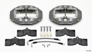 Wilwood D8-4 Rear Caliper Kit Clear Corvette C2 / C3 65-82