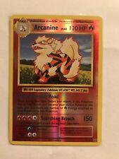 Pokemon Evolutions Arcanine Reverse Holo! Rare!