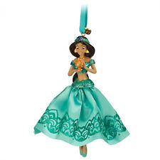 NEW Disney Store Princess Jasmine 2014 Sketchbook Xmas Ornament Aladdin Genie