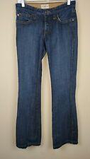 Frankie B. Women's  Blue Studded Back Pockets Bootcut Jeans sz 6