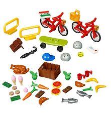 LEGO XTRA 40313 Biciclette + 40309 Accessori alimentari x minifigure NUOVO BUSTA