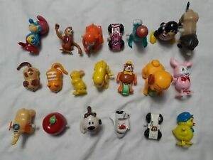 Vintage Lot of 20 Wind Up Toy's TOMY & Others some work some don't RARE Hong Kon