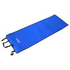 Fitnessmatte Yogamatte Yoga Matte Gymnastikmatte 180x60x0,6cm Blau mit Tragegurt