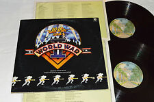 ALL THIS AND WORLD WAR II Movie Soundtrack 2-LP 2U-4739 Beatles Songs ELTON JOHN