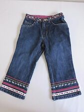 Baby Gap Jeans 2T Dark Wash Flowers Fall Winter Baby Toddler Fashion