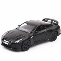 1:36 Nissan GT-R R35 Model Car Toy Vehicle Alloy Diecast Black Gift Kids Boys