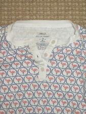 Roberta Roller Rabbit Kids Flamingo Pajama Henley Top- Pima Cotton - 2 Years