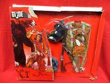 1964 Vintage Gi Joe Joezeta: Scarce 1976 Hasbro Canada Indian Set In Package