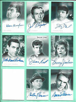 Twilight Zone Autograph Signed Card U PICK! Dennis Weaver Richman ETC A28-36