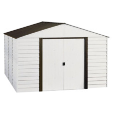 Arrow PM1012 Parkview 10x12 ft. Steel Storage Shed