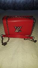 LV VIP Gift Bag Twist Rot Crossbody Mode Tasche Chain