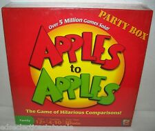 Out of the Box ©2007 APPLES TO APPLES Party Box Game  PARTY GAME New!