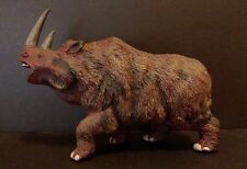 Rare Retired 1997 Safari Woolly Rhinoceros Rhino Dinosaur Prehistoric Figure