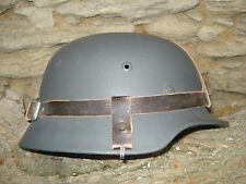 BIG SIZE BEAUTIFUL HELMET M 35/ NS 66  PERFECT CONDITION GERMAN WW2 ORIGINAL