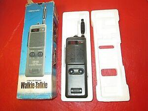 Realistic TRC 222 5 Watt 40 Channel Walkie Talkie & Box Tested