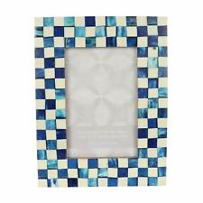 """4X6"""" Inch Blue Photo Frame Home Room Décor Wall Hanging Picture Frame"""
