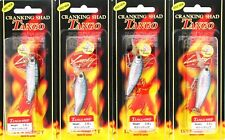 "(4) Lucky Craft Made Japan Cranking Shad Tango 45Sp 1 3/4"" Crankbait Blue Shiner"