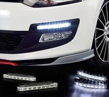 2x Auto Veicolo 8 LED luce marcia diurna DRL KIT Antinebbia Guida Luce del giorno giorno