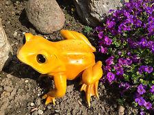 XL Frosch groß Kröte Unke, Garten Teich Pool Brunnen Dekofigur Figur wetterfest