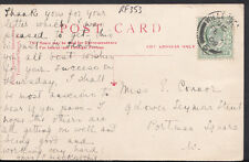 Family History Postcard - Connor - 9 Lower Seymour Street, Portman Square RF353