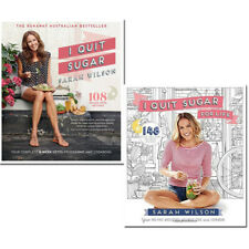 Sarah Wilson I Quit Sugar Cookbook 2 Books Collection Set Your Fad Free NEW