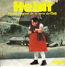 """7"""" BSO OST HEIDI capitulo 11 TV SPAIN 1976 children's story infantiles OSHIETE"""