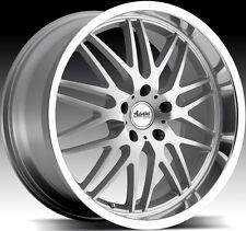 18x9.5 Advanti Racing Kudos 5x114.3 +35 silver rim wheels FIT RSX TSX ACCORD