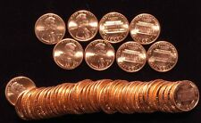 1997-D Lincoln cent   - 10 BU Uncirrculated rolls