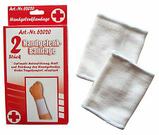 6 Handgelenk-Bandagen in Universalgröße, Sportbandagen, Handgelenkbandage, NEU