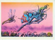 Richard corben Postcard: el-Insect Warriors (estados unidos, 1986)