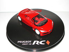 CIJ EUROPARC PEUGEOT RC CARREAU CONCEPT CAR au 1/43°